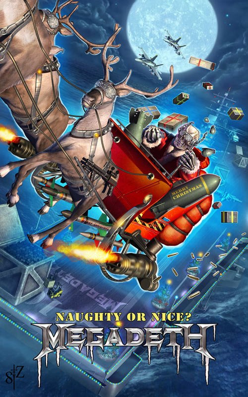 Heavy Metal Christmas.A Heavy Metal Christmas Deeanna Danger S Blog